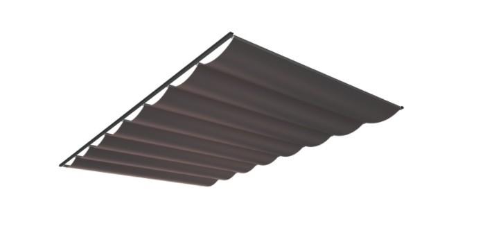 Pergola zonwering SOLEM TIBELLY - kleur Ardoise (ACRYL - Luxxout terrasoverkapping).jpg